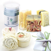 the one Ladies Luxury Artisan Savon Cupcake Soap & Organic Hand Cream Gift Set