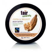Fair naturally cocoa & walnut body butter 200ml