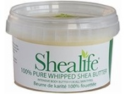 250 Grammes Organic Unrefined Shea Butter for Conditioning Sensitive and Dry Skin Baby Skin Salve Treatment of Eczema Psoriasis and Damaged Skin Supplied Direct by Shea Life Skincare 250Grams