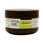 Natural Body Cream with Santalwood Oil for Young and Acne-prone Skin