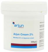 Arjun 2% Menthol Aqueous Cream 500g