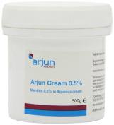 Arjun 0.5% Menthol Aqueous Cream 500g