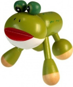 Wooden Frog Massager