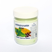 Anti Cellulite Cream with Caffeine, Mint and Lemon with Draining and Firming Skin Effect 200ml