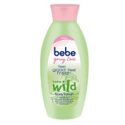 3x bebe Young Care wild body lotion 400ml each