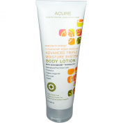 Acure Organics, Advanced Triple Moisture System Body Lotion, Mandarin Orange, 8 oz