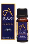 Absolute Aromas Organic Lemon Essential Oil