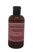 Lovers Sensual & Erotic Massage Oil 125ml Orange Ylang Ylang & Black Pepper