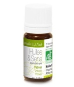 Huiles & Sens - Vetiver essential oil (organic) - 5 ml [Personal Care]