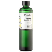 Fushi Japanese Camellia Organic Oil 100ml Extra Virgin, Biodynamic Harvested Cold Pressed