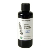 Alteya Organic Relaxing Massage and Body Oil Bulgarian Lavender
