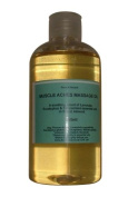 Muscle Aches & Pains Massage Oil 250ml with Lavender, Eucalyptus, Peppermint pure essential oils