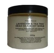 Lavender & Tea Tree Dead Sea Salt Hand & Body Scrub 300g