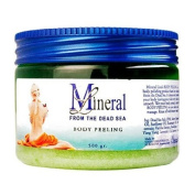 Mineral Line - Dead Sea, Body Peeling Scrub - LemonGrass, 500 gr / 520ml