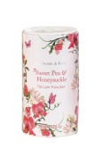 Heathcote & Ivory Florals Sweet Pea & Honeysuckle Mini Talcum Powder 50ml