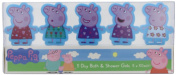 Peppa Pig 5 Day Bubble Bath Set