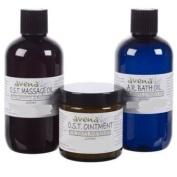 O S T [Osteoarthritis] Complete Set, O S T Massage Oil 250ml, OST Ointment 120ml & O S T Bath Oil 250ml
