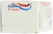 Aquafresh 50ml Little Teeth Fluoride Toothpaste 3-5 Years - Pack of 2