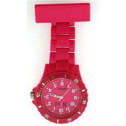 Stunning Pink Neon Fob Watch from Funky Fobz