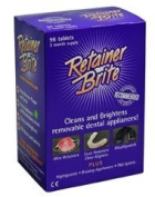 Retainer Brite 2 Month (72 Tablet) Pack includes Retainer Box