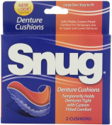 Snug Denture Cushions, 2-Count Cushions