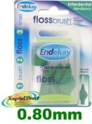 Endekay Interdental Flossbrush Green
