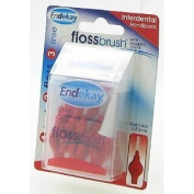 Endekay Interdental Flossbrush Red