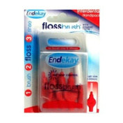 Endekay Flossbrush Red 0.50mm 6