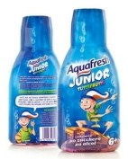 AQUAFRESH JUNIOR MOUTH WASH 6+300ML