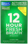 Smartmouth Alcohol-Free Mouthwash, Fresh Mint, 470ml