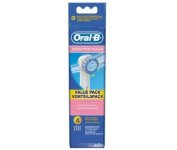Encourager Oral-B Sensitive Clean Brush Heads In Pack of 4