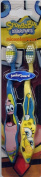 Nickelodeon Songebob Squarepants & Patric Toothbrush set
