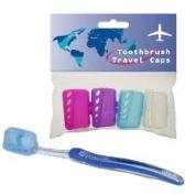 Toothbrush Travel Caps x4
