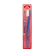 Addis Toothbrush Dual Texture To Remove Plague & Stimulate The Gums - Colours Vary