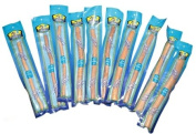 10 x Natural Toothbrush Sticks, Miswak, Siwak, Arak, Peelu, Chewing Stick, Salvadora Persica. MEDIUM