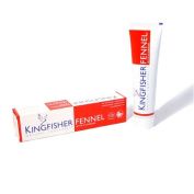 Kingfisher Natural Fennel Toothpaste (with Fluoride) - 100ml