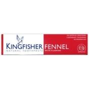 Kingfisher Fennel & Fluoride Toothpaste 100ml - CLF-KIN-F100