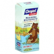 Orajel Toddler Training Toothpaste, Fruit Splash - 45ml