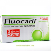 Fluocaril Bi-fluore 250mg Mint Toothpaste for Decay Protection 125 Ml