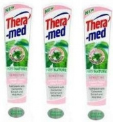 3 Theramed Pro Nature Sensitive Tooth Paste 75ML