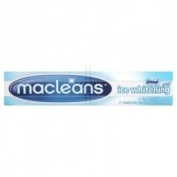 THREE PACKS of Macleans Toothpaste Gel Ice Whitening 100ml