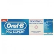 THREE PACKS of Oral-B Pro-Expert Sensitive & Gentle Whitening Toothpaste 75ml