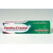 THREE PACKS of Dentu-Creme Denture Cleansing Toothpaste x 75ml