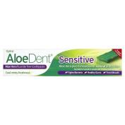 THREE PACKS of Aloe Dent Aloe Vera Sensitive Toothpaste 100ml