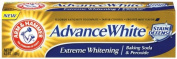 Arm & Hammer Advanced White Toothpaste, Dental Baking Soda & Peroxide, 130ml Tubes, Packaging May Vary,