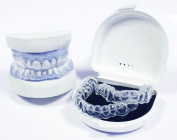 Teeth Whitening / Bleaching Dental Trays (with reservoirs) Free whitening toothpaste