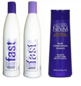 FAST Hair Growth Shampoo and Conditioner Set + Nisim Intensive Conditioning Masque