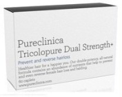 PURECLINICA TRICOLOPURE DUAL STRENGTH+ PREVENT AND REVERSE HAIR LOSS 60 CAPLETS