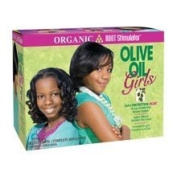 Organic Root Stimulator Olive Oil Girls Relaxer Kit Normal