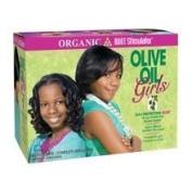 Organic Root Stimulator Olive Oil Girls Relaxer Kit Normal